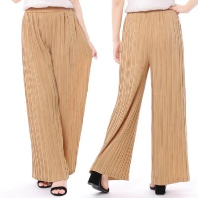 4-color high waist pleated pants