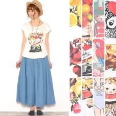 Color rich ☆ transfer printing cut
