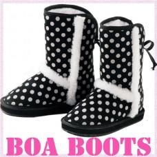 Dot bore boots