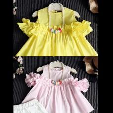 2016 New ★ tunic shorts ★ children's clothing ★