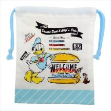 Donald & Chip & Dale with gusset kickback pouch / JUNK FOOD